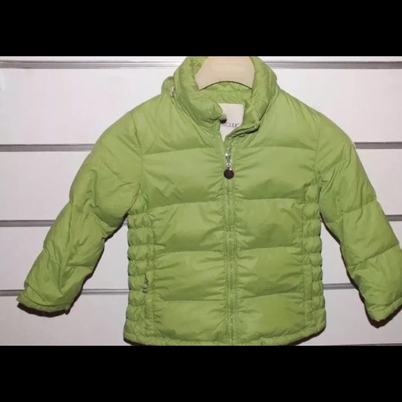 969022f30 Moncler Jackets & Coats | Girls Coat Authentic 4 495 Kids Green ...